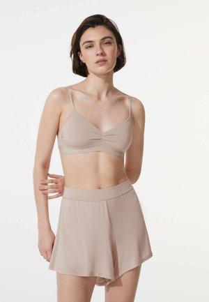 PLAIN SOFT TOUCH - Pyjama bottoms - beige