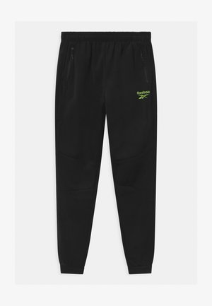 POLY TECH UNISEX - Tracksuit bottoms - black