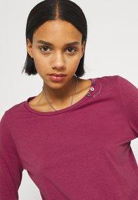 Ragwear - FLORAH LONG  - Long sleeved top - raspberry - 3