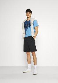 GAP - LOGO - Print T-shirt - blue - 1