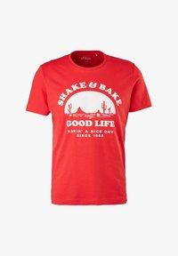 red good life print