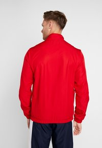 Lacoste Sport - TRACKSUIT - Träningsset - red/white/navy blue - 2