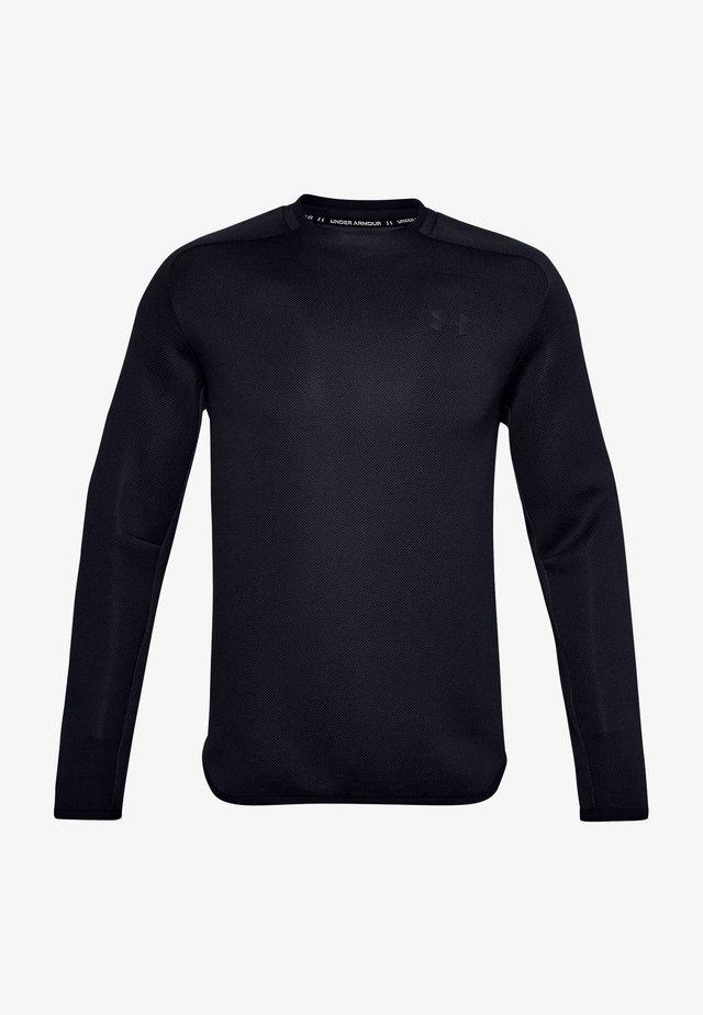 UA /MOVE CREW - Long sleeved top - black