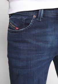 Diesel - LARKEE - Straight leg jeans - dark-blue denim - 5