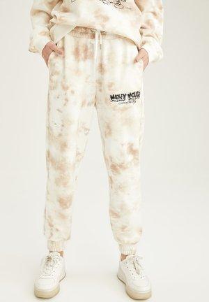DISNEY  - Pantalon de survêtement - ecru