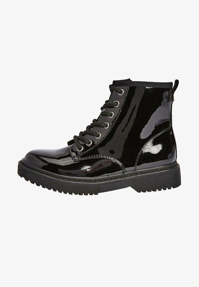 Veterboots - mottled black