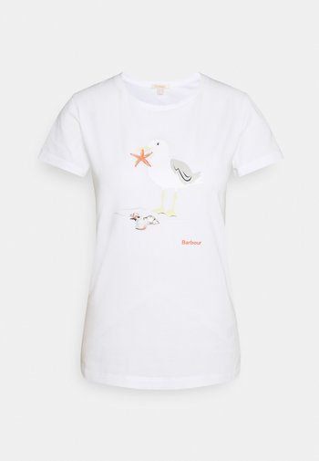 PENFOR TEE - Print T-shirt - white