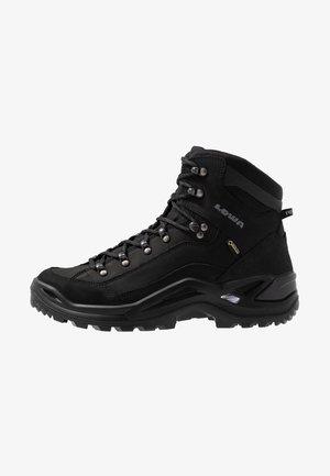 RENEGADE GTX MID - Hiking shoes - tiefschwarz