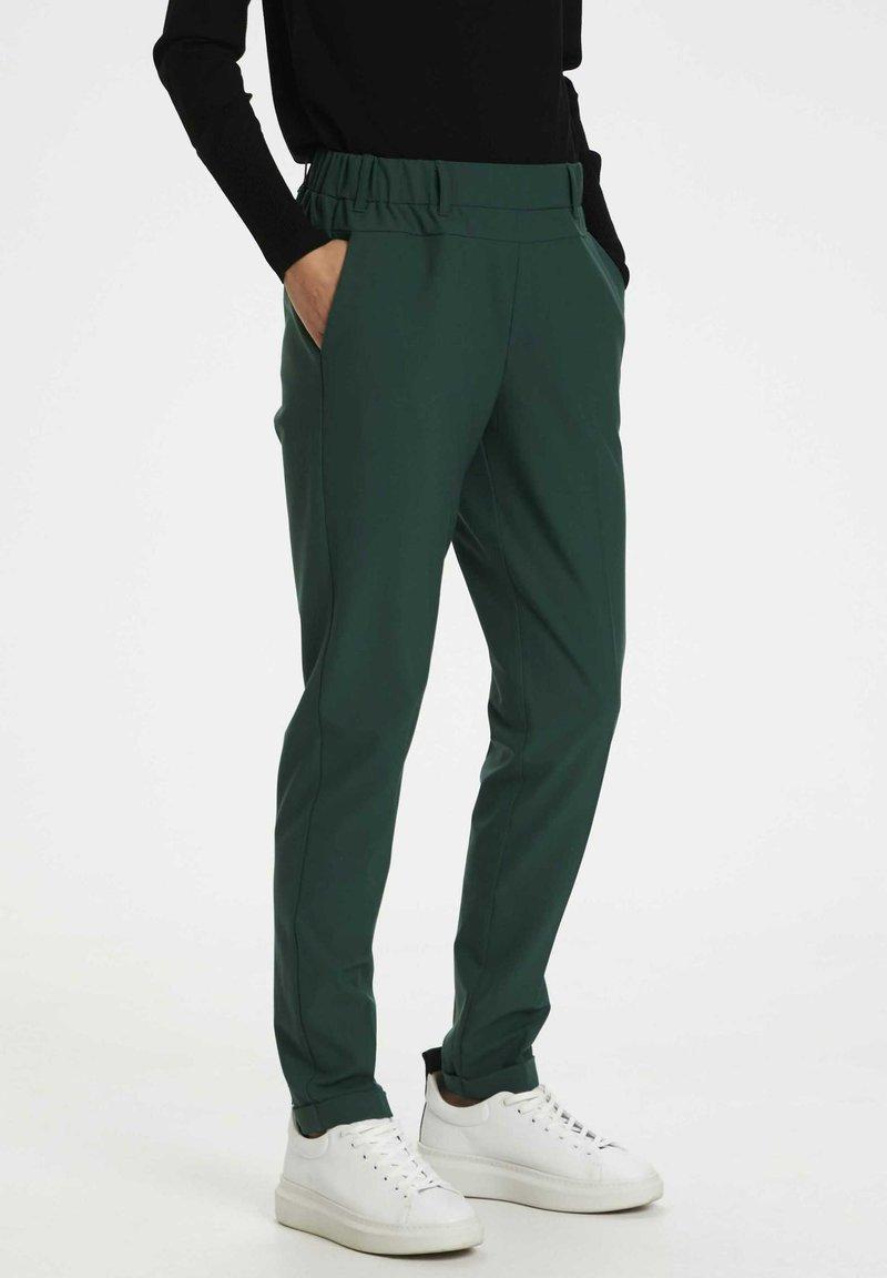 Kaffe - NANCI JILLIAN - Trousers - dark green