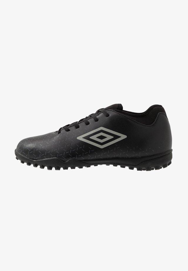 VELOCITA CLUB TF - Scarpe da calcetto con tacchetti - black/carbon
