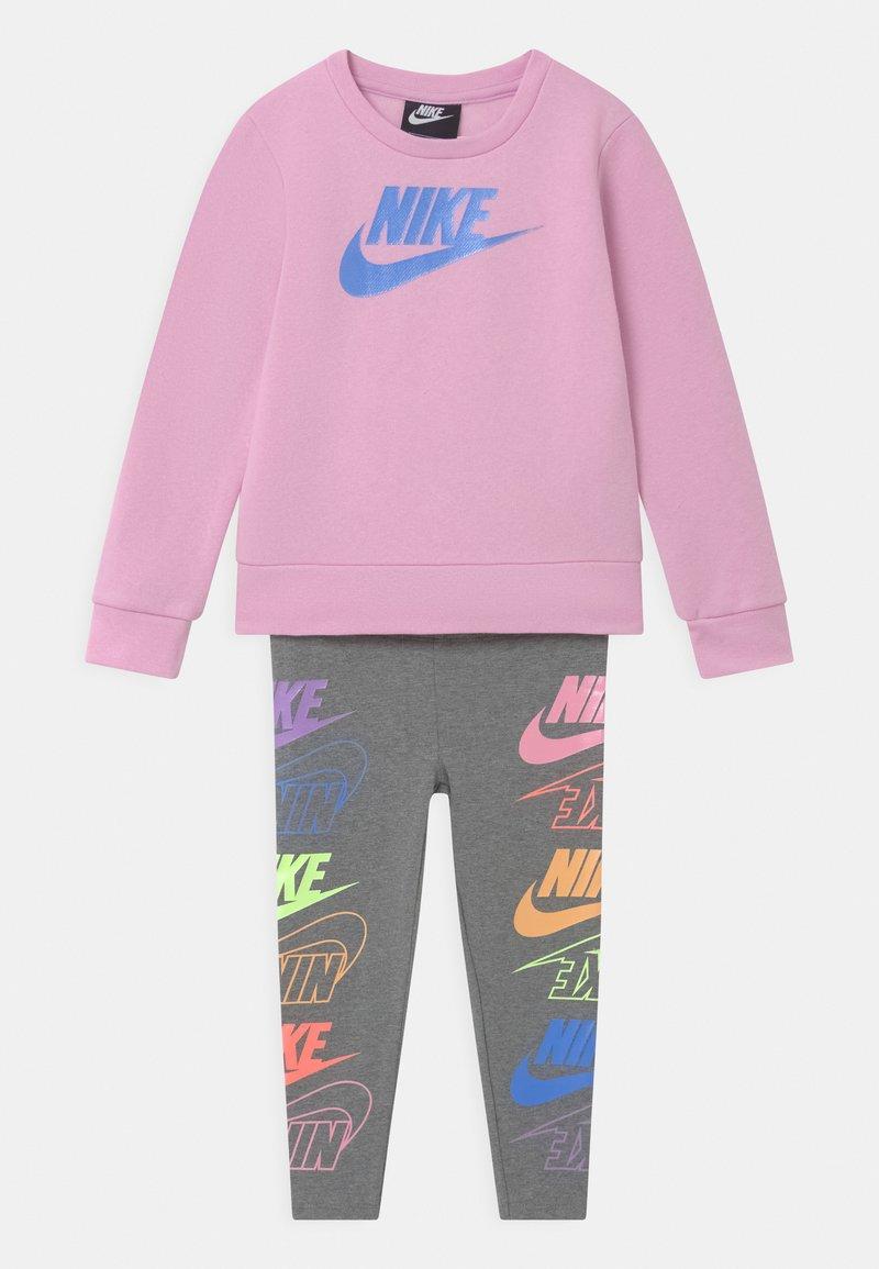 Nike Sportswear - FUTURA SET - Mikina - carbon heather
