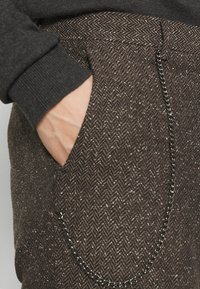 Shelby & Sons - STANLEY TROUSER - Kalhoty - brown - 3
