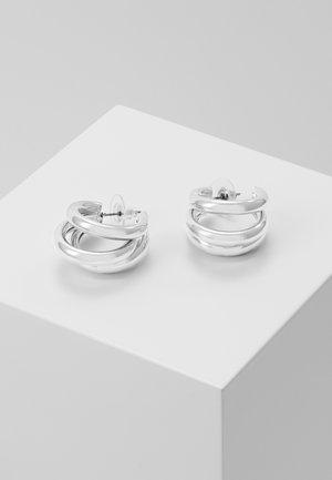 Náušnice - silver-coloured