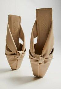 Mango - WENDY - Sandals - open beige - 2