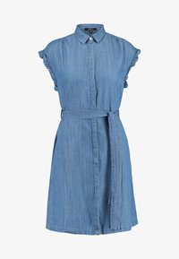 Mavi - SHORT SLEEVE DRESS - Jeanskleid - light indigo