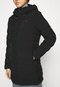 Tommy Hilfiger - SEAMLESS SORONA COAT - Light jacket - black - 5