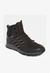 The North Face - M LITEWAVE FASTPACK II MID WP - Sporty snøresko - tnf black/ebony grey - 1