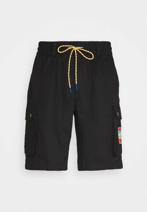 ADPLR CARGO SPORTS INSPIRED SHORTS - Szorty - black