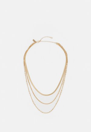 FINX CHAIN NECKLACE - Necklace - gold-coloured