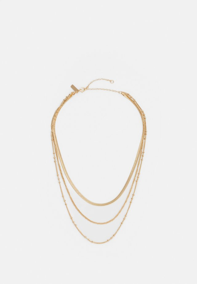 FINX CHAIN NECKLACE - Collana - gold-coloured