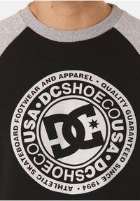 DC Shoes - DC SHOES SWEATSHIRT CIRCLE STAR - Sweatshirt - black - 2