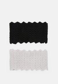 Even&Odd - Ear warmers - black/offwhite - 1