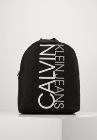 Calvin Klein Jeans - INSTITUTIONAL LOGO BACKPACK - Rygsække - black - 0