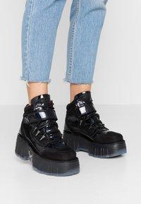 Bronx - MOON WALKK - High-top trainers - black - 0