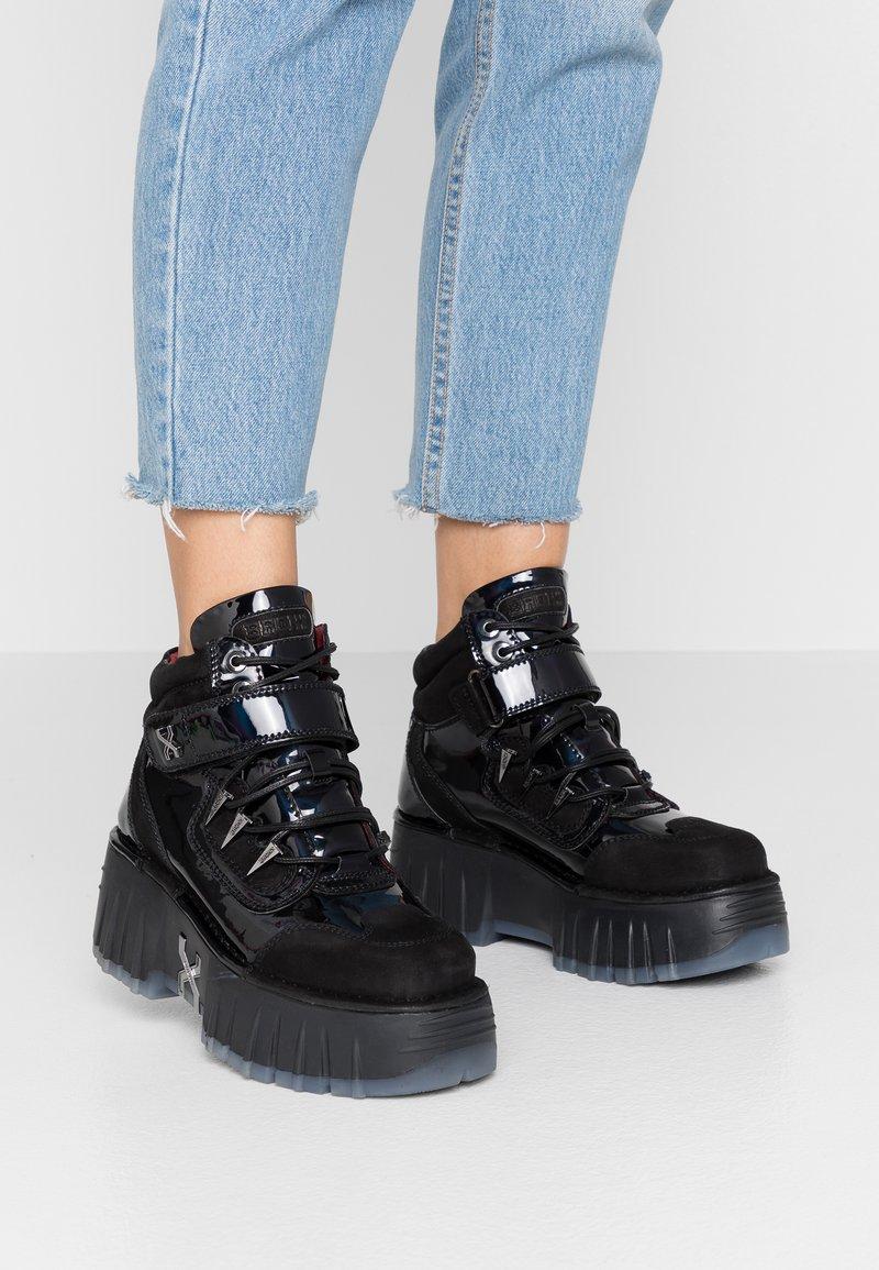 Bronx - MOON WALKK - High-top trainers - black