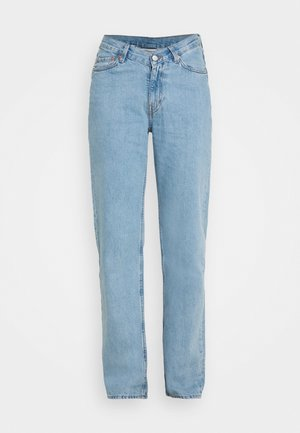 TWIN TROUSERS - Straight leg jeans - pool blue