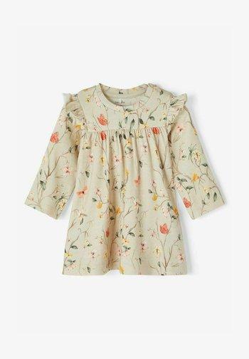 Korte jurk - peyote melange