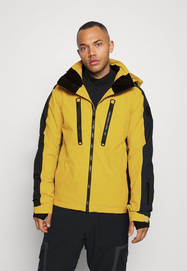MOLINA - Ski jas - mustard