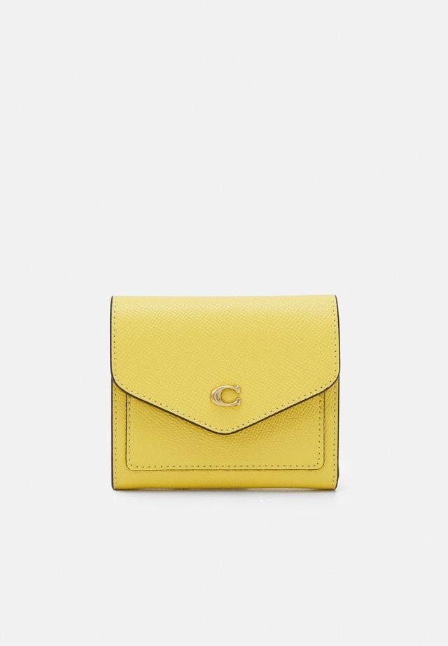 CROSSGRAIN SMALL WALLET - Portefeuille - retro yellow