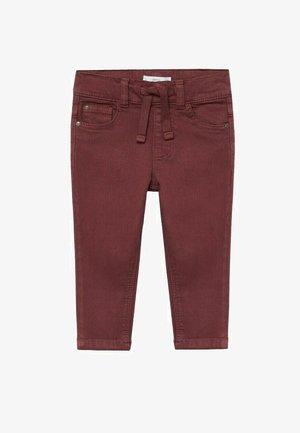 CORD8 - Trousers - bordeaux