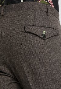 Twisted Tailor - MOONLIGHT TROUSERS - Pantaloni eleganti - brown - 5