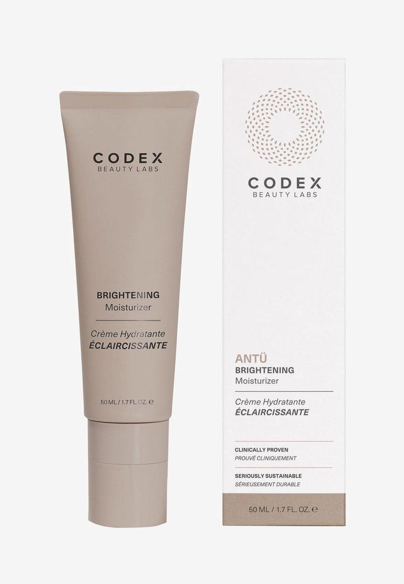 Codex Beauty - ANTU BRIGHTERNING DAY CREAM - Dagkräm - -