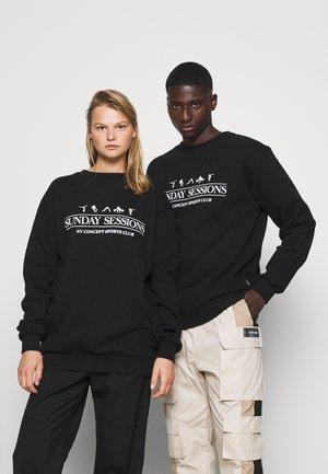 SESSIONS UNISEX - Sweater - black