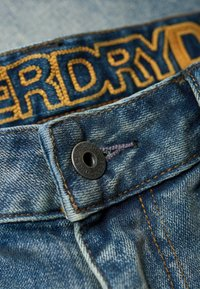 Superdry - DAMAN - Straight leg jeans - grey - 4
