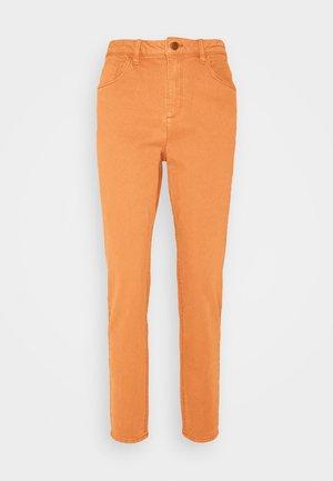 MODERN TAPE - Straight leg jeans - rust brown