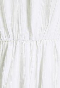 Vila - VIMESA BRAIDED SHORT DRESS - Denní šaty - snow white - 2