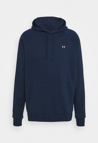 Under Armour - RIVAL  - Hoodie - academy/onyx white - 4