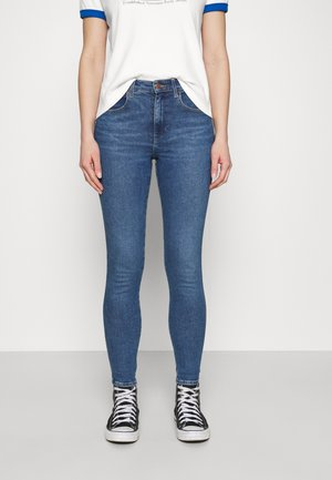HIGH RISE - Jeans Skinny Fit - shaded sky