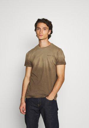 T-shirt imprimé - olive  military
