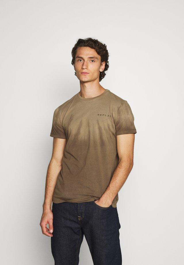 T-shirts print - olive  military