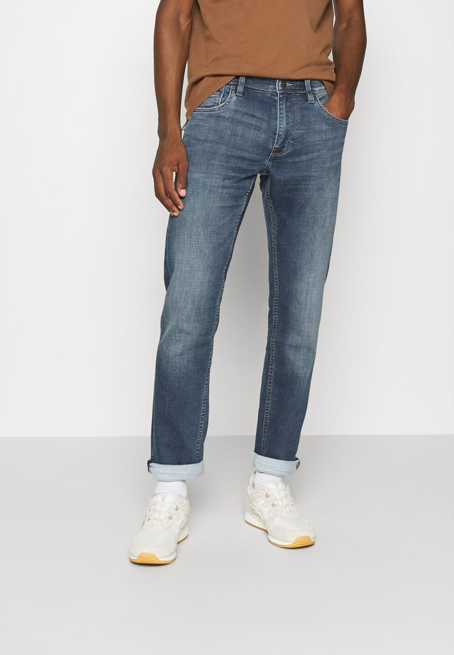 LANG - Jeans Straight Leg - blue denim