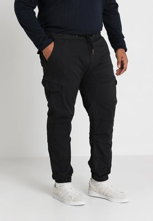 LEVI PLUS - Cargobukser - black