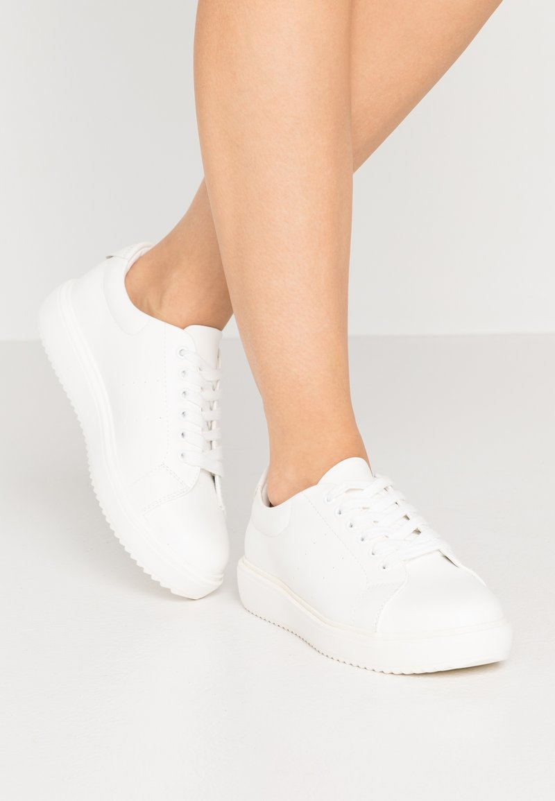 Even&Odd Wide Fit - Sneakers basse - white