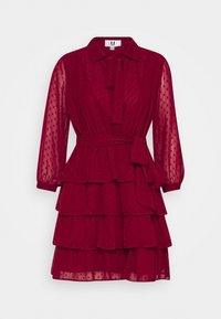 U Collection by Forever Unique - Shirt dress - burgundy - 0