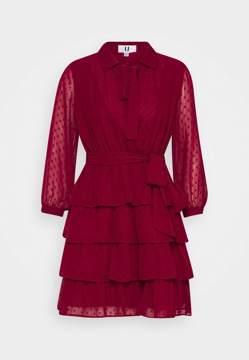 U Collection by Forever Unique - Shirt dress - burgundy
