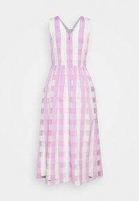 kate spade new york - GINGHAM DRESS - Koktejlové šaty/ šaty na párty - fresh lilac - 1